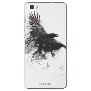 Plastové pouzdro iSaprio Dark Bird 01 na mobil Huawei P8 Lite