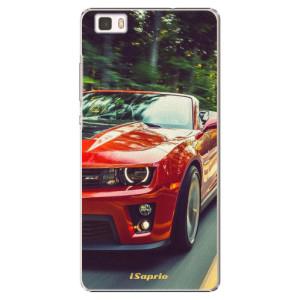 Plastové pouzdro iSaprio Chevrolet 02 na mobil Huawei P8 Lite