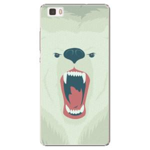 Plastové pouzdro iSaprio Angry Bear na mobil Huawei P8 Lite