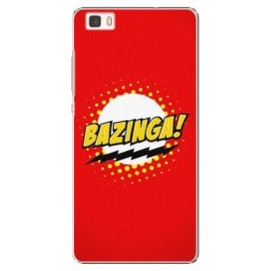 Plastové pouzdro iSaprio Bazinga 01 na mobil Huawei P8 Lite
