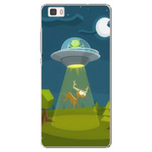 Plastové pouzdro iSaprio Alien 01 na mobil Huawei P8 Lite