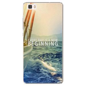 Plastové pouzdro iSaprio Beginning na mobil Huawei P8 Lite