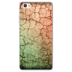 Plastové pouzdro iSaprio Cracked Wall 01 na mobil Huawei P8 Lite