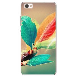 Plastové pouzdro iSaprio Autumn 02 na mobil Huawei P8 Lite