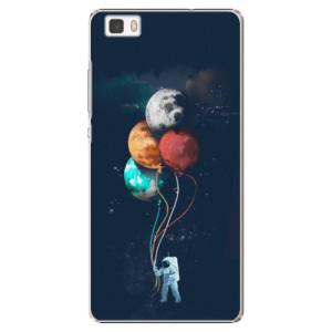 Plastové pouzdro iSaprio Balloons 02 na mobil Huawei P8 Lite