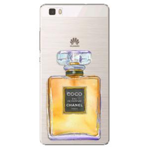 Plastové pouzdro iSaprio Chanel Gold na mobil Huawei P8 Lite