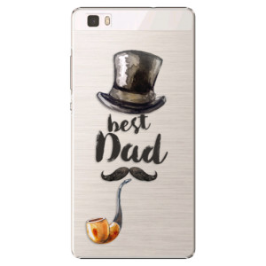 Plastové pouzdro iSaprio Best Dad na mobil Huawei P8 Lite