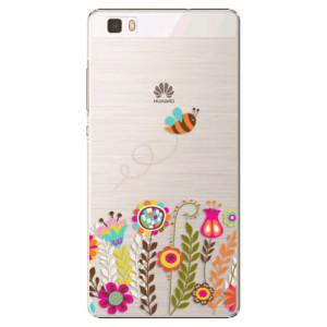 Plastové pouzdro iSaprio Bee 01 na mobil Huawei P8 Lite