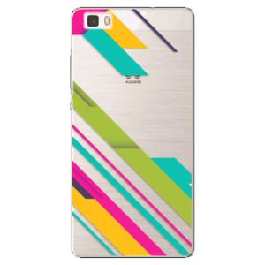 Plastové pouzdro iSaprio Color Stripes 03 na mobil Huawei P8 Lite