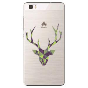 Plastové pouzdro iSaprio Deer Green na mobil Huawei P8 Lite