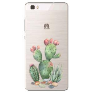 Plastové pouzdro iSaprio Cacti 01 na mobil Huawei P8 Lite