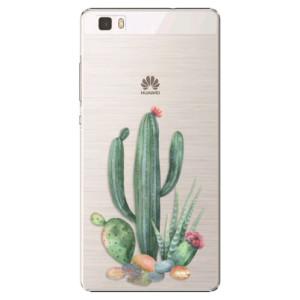 Plastové pouzdro iSaprio Cacti 02 na mobil Huawei P8 Lite