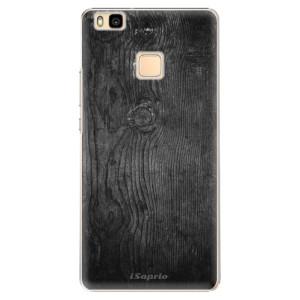 Plastové pouzdro iSaprio Black Wood 13 na mobil Huawei P9 Lite