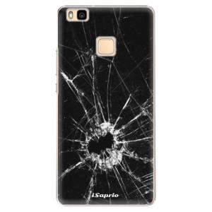 Plastové pouzdro iSaprio Broken Glass 10 na mobil Huawei P9 Lite