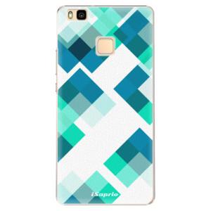 Plastové pouzdro iSaprio Abstract Squares 11 na mobil Huawei P9 Lite