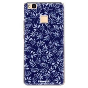Plastové pouzdro iSaprio Blue Leaves 05 na mobil Huawei P9 Lite