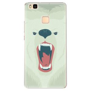 Plastové pouzdro iSaprio Angry Bear na mobil Huawei P9 Lite