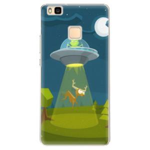 Plastové pouzdro iSaprio Alien 01 na mobil Huawei P9 Lite