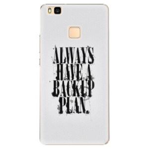 Plastové pouzdro iSaprio Backup Plan na mobil Huawei P9 Lite