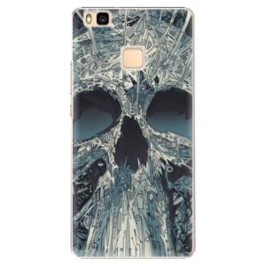 Plastové pouzdro iSaprio Abstract Skull na mobil Huawei P9 Lite