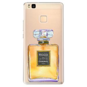 Plastové pouzdro iSaprio Chanel Gold na mobil Huawei P9 Lite