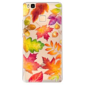 Plastové pouzdro iSaprio Autumn Leaves 01 na mobil Huawei P9 Lite