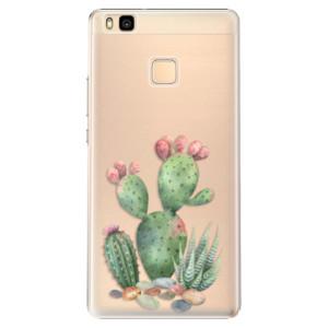 Plastové pouzdro iSaprio Cacti 01 na mobil Huawei P9 Lite