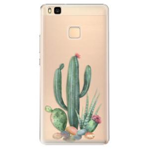 Plastové pouzdro iSaprio Cacti 02 na mobil Huawei P9 Lite
