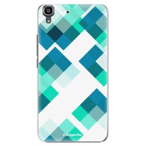 Plastové pouzdro iSaprio Abstract Squares 11 na mobil Huawei Y6