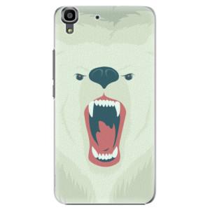 Plastové pouzdro iSaprio Angry Bear na mobil Huawei Y6