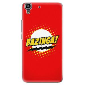Plastové pouzdro iSaprio Bazinga 01 na mobil Huawei Y6
