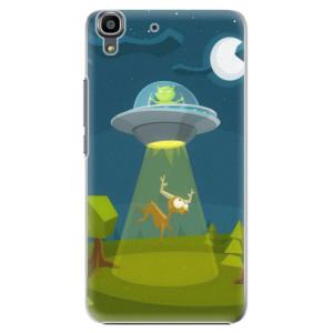 Plastové pouzdro iSaprio Alien 01 na mobil Huawei Y6