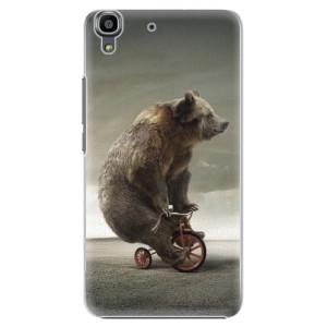 Plastové pouzdro iSaprio Bear 01 na mobil Huawei Y6