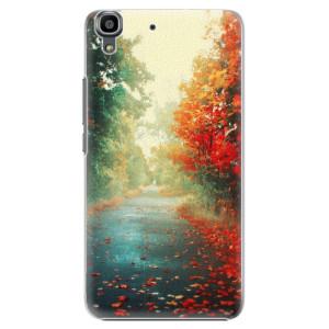 Plastové pouzdro iSaprio Autumn 03 na mobil Huawei Y6