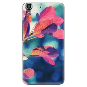 Plastové pouzdro iSaprio Autumn 01 na mobil Huawei Y6