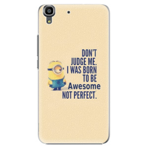 Plastové pouzdro iSaprio Be Awesome na mobil Huawei Y6