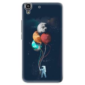 Plastové pouzdro iSaprio Balloons 02 na mobil Huawei Y6
