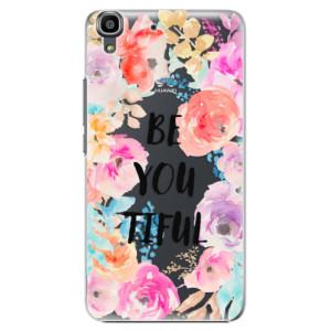 Plastové pouzdro iSaprio BeYouTiful na mobil Huawei Y6