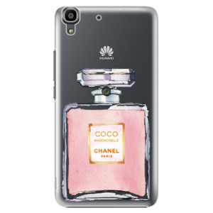 Plastové pouzdro iSaprio Chanel Rose na mobil Huawei Y6