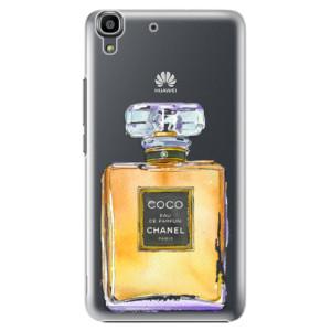 Plastové pouzdro iSaprio Chanel Gold na mobil Huawei Y6