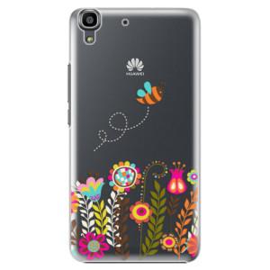 Plastové pouzdro iSaprio Bee 01 na mobil Huawei Y6