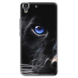 Plastové pouzdro iSaprio Black Puma na mobil Huawei Y6