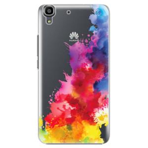 Plastové pouzdro iSaprio Color Splash 01 na mobil Huawei Y6