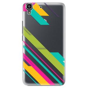 Plastové pouzdro iSaprio Color Stripes 03 na mobil Huawei Y6