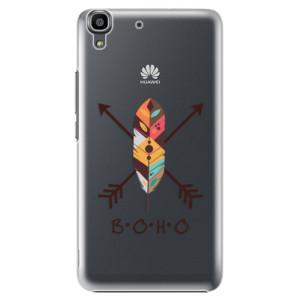 Plastové pouzdro iSaprio BOHO na mobil Huawei Y6