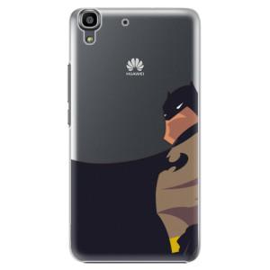 Plastové pouzdro iSaprio BaT Comics na mobil Huawei Y6