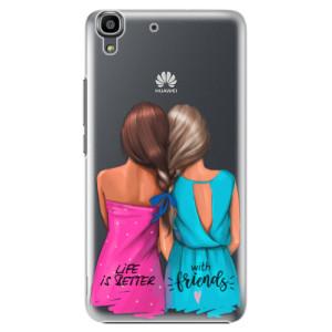 Plastové pouzdro iSaprio Best Friends na mobil Huawei Y6