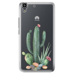 Plastové pouzdro iSaprio Cacti 02 na mobil Huawei Y6