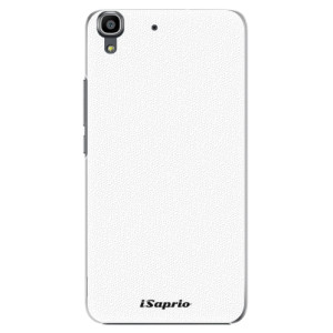 Plastové pouzdro iSaprio 4Pure bílé na mobil Huawei Y6