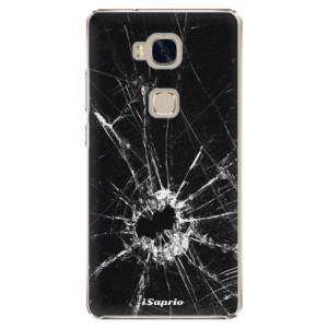 Plastové pouzdro iSaprio Broken Glass 10 na mobil Huawei Honor 5X